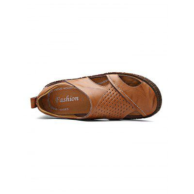 Summer Breathable Men Leather Casual Sandals