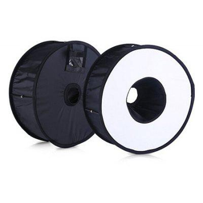 Portable 45CM Round Universal Ring Flash Diffuseur