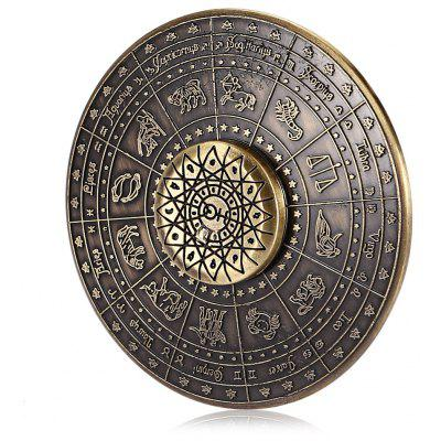 Zinc Alloy Twelve Constellations Fidget Spinner