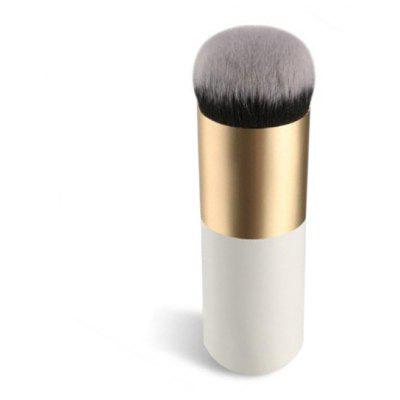 Buy Foundation Makeup Brush, WHITE AND GOLDEN, Health & Beauty, Makeup, Makeup Brushes & Tools for $1.92 in GearBest store
