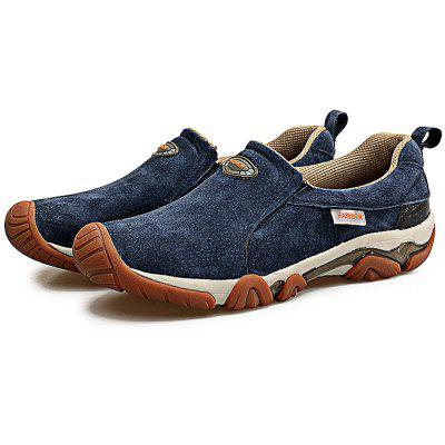 Outdoor Breathable Slip On Men Hiking Shoes