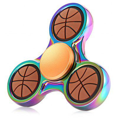Basketball Style Dazzling EDC Fidget Spinner Focus Toy ADHD Anxiety Stress Relief