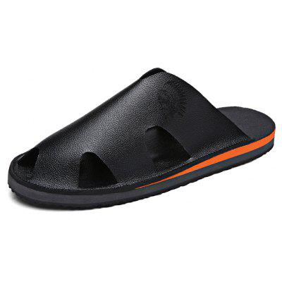 Comfortable Microfiber Men Casual Slippers