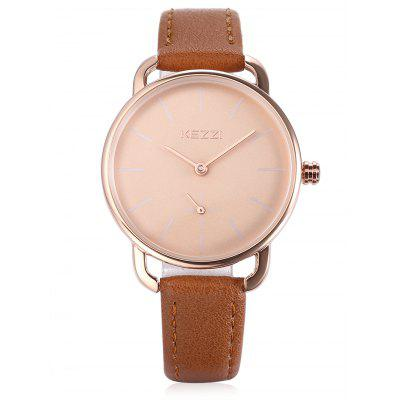 KEZZI K - 1675 Quartz WatchWomens Watches<br>KEZZI K - 1675 Quartz Watch<br><br>Band material: PU<br>Band size: 22.2 x 1.9cm<br>Brand: Kezzi<br>Case material: Alloy<br>Clasp type: Pin buckle<br>Dial size: 3.5 x 3.5 x 0.8cm<br>Display type: Analog<br>Movement type: Quartz watch<br>Package Contents: 1 x Watch<br>Package size (L x W x H): 26.00 x 4.50 x 2.00 cm / 10.24 x 1.77 x 0.79 inches<br>Package weight: 0.0460 kg<br>Product size (L x W x H): 22.20 x 3.50 x 0.80 cm / 8.74 x 1.38 x 0.31 inches<br>Product weight: 0.0250 kg<br>Shape of the dial: Round<br>Watch color: White<br>Watch style: Business, Casual, Classic, Cool, Fashion<br>Watches categories: Female table,Women<br>Water resistance: Life water resistant<br>Wearable length: 16.5 - 21cm