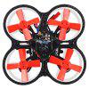 Makerfire Armor 67 67mm Micro FPV Racing Drone - BNF - BLACK AND RED