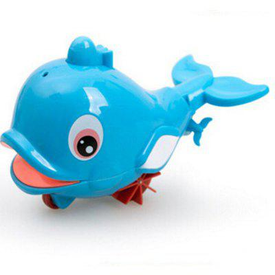 6PCS Water Spray Swim Dolphin Babies Toy