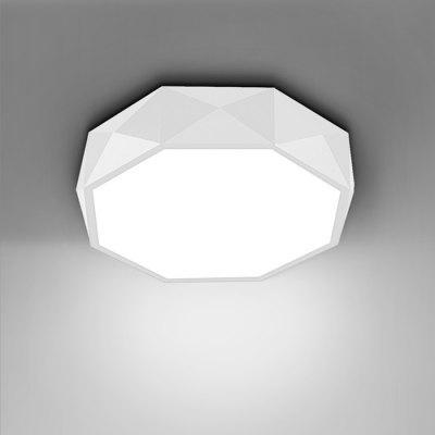 BRELONG 96 LEDs Stepless Dimming Ceiling Light Round Shape