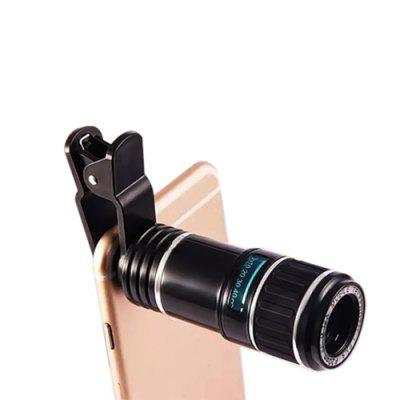 8X Zoom Mobile TelescopePhone Lenses<br>8X Zoom Mobile Telescope<br><br>Lens type: Long Focal(Telephoto Lens)<br>Magnification ?Telephoto Lens ): 8X<br>Material: Optical glass<br>Package Contents: 1 x Phone Clip, 1 x Lens<br>Package size (L x W x H): 5.00 x 5.00 x 9.00 cm / 1.97 x 1.97 x 3.54 inches<br>Package weight: 0.1150 kg<br>Product size (L x W x H): 3.40 x 3.40 x 7.20 cm / 1.34 x 1.34 x 2.83 inches<br>Product weight: 0.0500 kg
