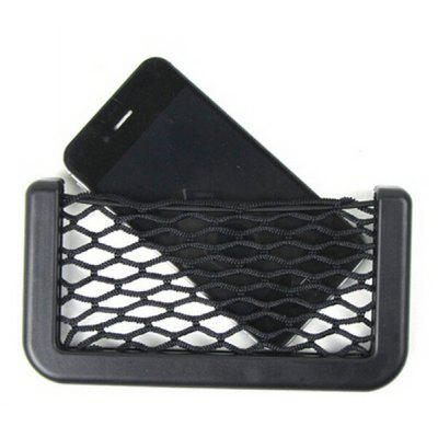 Car Mount Mobile Phone Net Pouch Storage Bag