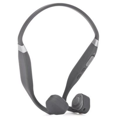 Vidonn F1 Bone Conduction Bluetooth HeadsetEarbud Headphones<br>Vidonn F1 Bone Conduction Bluetooth Headset<br><br>Application: Sport, Running<br>Battery Capacity(mAh): Built-in 180mAh Li-polymer Battery<br>Bluetooth: Yes<br>Bluetooth distance: W/O obstacles 10m<br>Bluetooth mode: Headset<br>Bluetooth protocol: A2DP,AVRCP,HFP,HSP<br>Bluetooth Version: V4.1<br>Brand: Vidonn<br>Charging Time.: 1.5H<br>Compatible with: iPhone, iPod, Mobile phone<br>Connecting interface: Micro USB<br>Connectivity: Wireless<br>Driver unit: 15.3mm<br>Frequency response: 20-20000Hz<br>Function: Sweatproof, Voice Prompt, Song Switching, Noise Cancelling, Bluetooth, Waterproof, Answering Phone, Microphone, Voice control<br>Impedance: 8ohms<br>Language: English<br>Material: TPU, Titanium Alloy, ABS<br>Model: F1<br>Music Time: 6H<br>Package Contents: 1 x Headset, 1 x Micro USB Cable ( 50cm ), 1 x English and Chinese Manual, 2 x Earbud Tip<br>Package size (L x W x H): 17.00 x 15.00 x 5.00 cm / 6.69 x 5.91 x 1.97 inches<br>Package weight: 0.2010 kg<br>Product size (L x W x H): 11.50 x 13.20 x 5.20 cm / 4.53 x 5.2 x 2.05 inches<br>Product weight: 0.0380 kg<br>Sensitivity: 88dB<br>Standby time: 7 Days<br>Talk time: 3H<br>Type: In-Ear