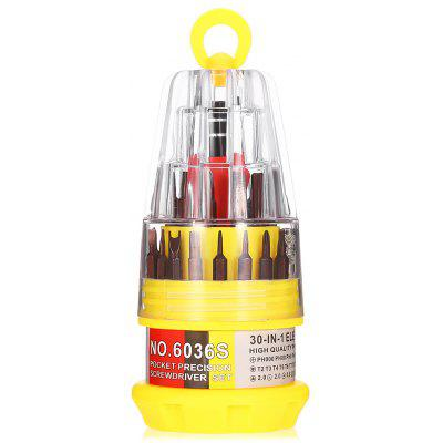 AC - 28 31PCS Portable S2 Steel Screwdriver Bit