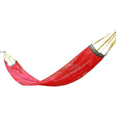 Portable 1-person 120kg Loading Viscose Fiber Mesh Hammock