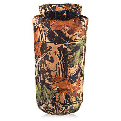 Lightweight 8L Waterproof Compression Dry Bag Storage Pack - CAMOUFLAGE