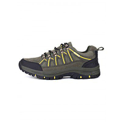 Anti-slip Outdoor Hiking ShoesAthletic Shoes<br>Anti-slip Outdoor Hiking Shoes<br><br>Contents: 1 x Pair of Shoes<br>Materials: Mesh, PU, Rubber<br>Occasion: Daily, Casual<br>Package Size ( L x W x H ): 33.00 x 22.00 x 11.00 cm / 12.99 x 8.66 x 4.33 inches<br>Package Weights: 1.080kg<br>Seasons: Autumn,Spring,Summer<br>Style: Leisure<br>Type: Hiking Shoes