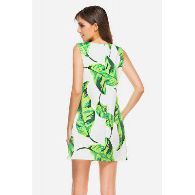 Leaf Print Sleeveless Mini Flare DressMini Dresses<br>Leaf Print Sleeveless Mini Flare Dress<br><br>Dresses Length: Mini<br>Embellishment: Pockets<br>Material: Cotton<br>Neckline: Round Collar<br>Occasion: Party, Casual, Beach and Summer<br>Package Contents: 1 x Leaf Print Mini Dress<br>Package size: 32.00 x 28.00 x 2.00 cm / 12.6 x 11.02 x 0.79 inches<br>Package weight: 0.3200 kg<br>Pattern Type: Print<br>Product weight: 0.2400 kg<br>Season: Summer<br>Silhouette: A-Line<br>Style: Fashion<br>With Belt: No