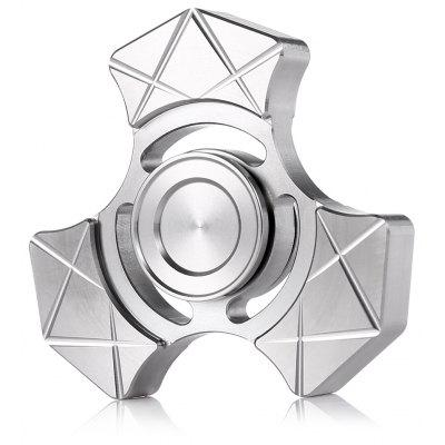 Triangle Geometry Line Printed Finger Spinner