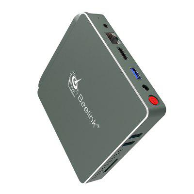 Beelink AP34 Mini PCMini PC<br>Beelink AP34 Mini PC<br><br>5G WiFi: Yes<br>Audio format: AAC, MP3, MKA, DTS, DDP, APE, ACC, AC3, MPEG, OGG, OGA, RM, TrueHD, WAV, WMA<br>Bluetooth: Bluetooth4.0<br>Brand: Beelink<br>Core: Quad Core<br>CPU: Apollo Lake N3450<br>Decoder Format: H.264, H.265<br>GPU: Intel HD Graphic<br>HDMI Function: HDCP<br>HDMI Version: 1.4<br>Interface: HDMI, LAN, Reset Port, SD Card Slot, USB3.0, DC Power Port, 3.5mm Audio<br>Language: Multi-language<br>Model: AP34<br>Other Functions: ISO Files<br>Package Contents: 1 x Beelink AP34 Mini PC, 1 x Power Adapter, 1 x English User Manual, 1 x Mini PC Bracket<br>Package size (L x W x H): 13.65 x 12.90 x 8.55 cm / 5.37 x 5.08 x 3.37 inches<br>Package weight: 0.7900 kg<br>Photo Format: JPG, JPEG, GIF, PNG, BMP<br>Power Consumption.: 18W<br>Power Supply: Charge Adapter<br>Power Type: External Power Adapter Mode<br>Processor: Apollo Lake N3450<br>Product size (L x W x H): 11.90 x 11.90 x 2.00 cm / 4.69 x 4.69 x 0.79 inches<br>Product weight: 0.3370 kg<br>RAM Type: DDR3<br>Remote Controller Battery: 2pcs x AAA batteries<br>RJ45 Port Speed: 1000M<br>Support 5.1 Surround Sound Output: Yes<br>System: Linux<br>System Bit: 64Bit<br>Type: Mini PC<br>Video format: RM, WMV, VP9, VOB, TS, RV, MP4, ISO, 4K, 4K x 2K, ASF, AVC, AVI, DAT, FLV, RMVB<br>WiFi Chip: 802.11ac