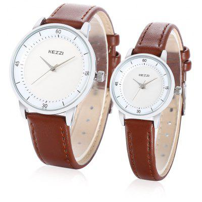 KEZZI K - 1686 Stylish Couples Watch
