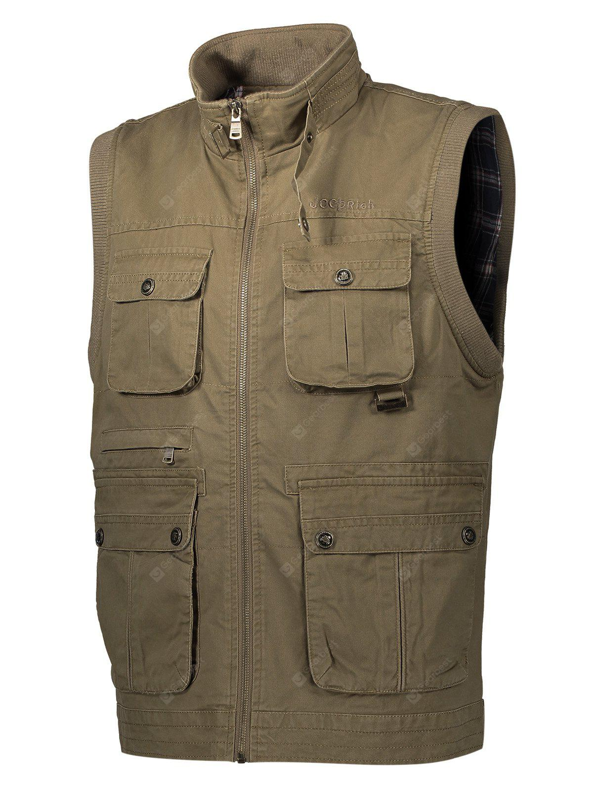 Jeep Rich Outdoor Casual Waistcoat for Men