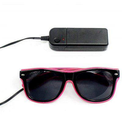 Stylish Funny LED Flashing Eyeglasses