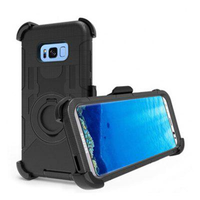 Anti-drop Phone Case Protector Kickstand Cover for Samsung Galaxy S8
