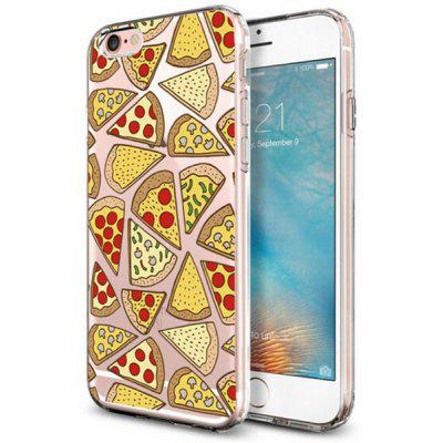 Nettes Pizza-Muster TPU Abdeckungs-Fall für iPhone 7