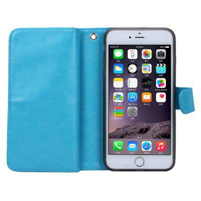 Crazy Horse Grain PU Leather Wallet Case Phone Cover Protector for iPhone 7