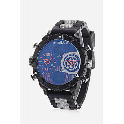6.11 8159B Men 3-movt Watch 53mm