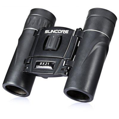 SUNCORE Water-resistant Mini 8 x 21mm Binocular Telescope