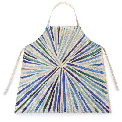 Bar-shaped Waterproof Durable Comfortable Apron with Adjustable Strip for Kids