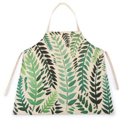 Leaf Pattern Waterproof Durable Comfortable Apron with Adjustable Strip for Kids