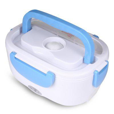 Portable Electric Heating Lunch Box Food HeaterOthers<br>Portable Electric Heating Lunch Box Food Heater<br><br>Material: Plastic<br>Package Contents: 1 x Electric Lunch Box, 1 x English User Manual, 1 x Charger<br>Package size (L x W x H): 32.00 x 12.50 x 19.30 cm / 12.6 x 4.92 x 7.6 inches<br>Package weight: 0.6160 kg<br>Power (W): 40<br>Product size (L x W x H): 22.70 x 16.50 x 9.10 cm / 8.94 x 6.5 x 3.58 inches<br>Product weight: 0.4590 kg<br>Type: Handheld<br>Voltage (V): 220