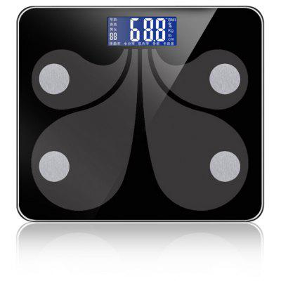 SHINING SY900 Bluetooth 4.1 Smart BMI Body Weight Fat Scale