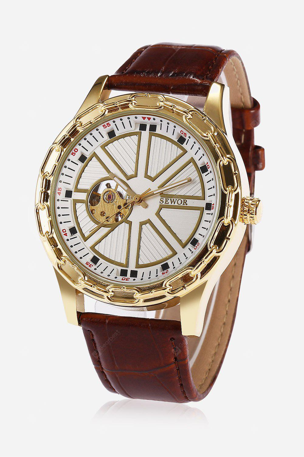 SEWOR SW0311011 Men Auto Mechanical Watch