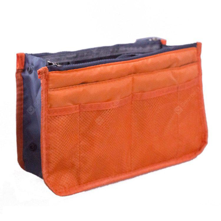 Portable Polyester Travel Storage Pouch Makeup Bag