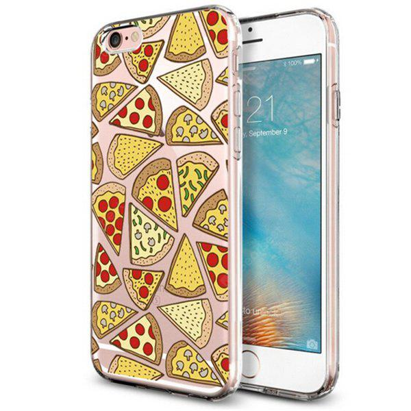 Cute Pizza Pattern TPU Cover Case for iPhone 7