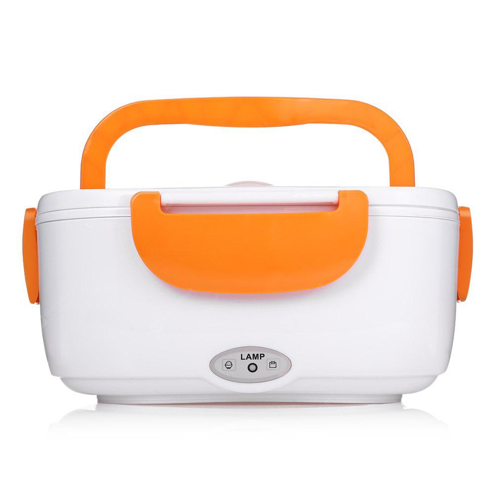 ORANGE Portable Electric Heating Lunch Box Food Heater