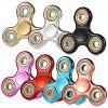Electroplated Classic Three Leaf Fidget Spinner - GOLDEN