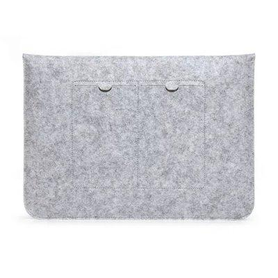 Laptop Storage Bag CoverMac Cases/Covers<br>Laptop Storage Bag Cover<br><br>Color: Gray<br>Compatible with: MacBook 12 inch, MacBook Pro 13.3 inch with Retina Display, MacBook Pro 13.3 inch 2016, MacBook Pro 13.3 inch, MacBook Air 13.3 inch, MacBook Air 11.6 inch<br>Package Contents: 1 x Notebook Bag<br>Package size (L x W x H): 31.00 x 26.00 x 3.00 cm / 12.2 x 10.24 x 1.18 inches<br>Package weight: 0.1600 kg<br>Product size (L x W x H): 29.00 x 24.00 x 2.00 cm / 11.42 x 9.45 x 0.79 inches<br>Product weight: 0.1300 kg