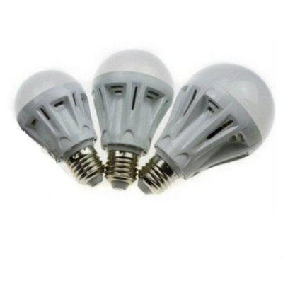 1pcs E27 LED Voice et Light Control Lobby Lampe
