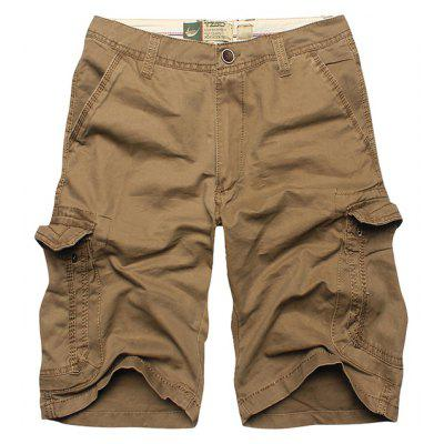 Zacard Men Overall Casual Shorts