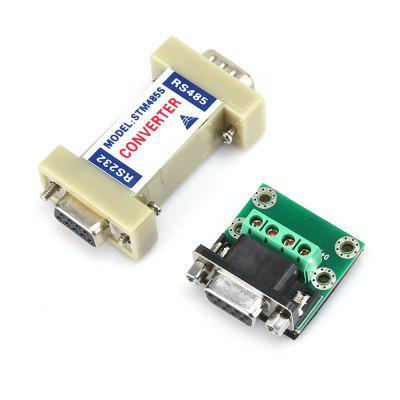 RS485 to RS232 Adapter Converter with Extended BoardCables &amp; Connectors<br>RS485 to RS232 Adapter Converter with Extended Board<br><br>Compatible with: Macbook, Notebook<br>Connector Type: VGA<br>Interface: RS232<br>Package Contents: 1 x RS485 to RS232 Converter, 1 x Extended Board, 1 x English Manual<br>Package size (L x W x H): 13.00 x 9.00 x 7.50 cm / 5.12 x 3.54 x 2.95 inches<br>Package weight: 0.0950 kg<br>Product size (L x W x H): 6.10 x 3.20 x 1.60 cm / 2.4 x 1.26 x 0.63 inches<br>Product weight: 0.0350 kg<br>Type: Adapter