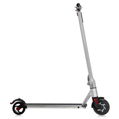 Aluminum Alloy 6 inch Wheel 5200mAh Folding Electric ScooterKick Scooter<br>Aluminum Alloy 6 inch Wheel 5200mAh Folding Electric Scooter<br><br>Battery: Li-ion battery ( imported from South Korea )<br>Battery Capacity: 5200mAh<br>Battery Rate: 58W<br>Charger type: EU plug<br>Charging Time: 120 Minutes<br>Folding Type: Non-folding<br>Material: Aluminum Alloy<br>Max Payload: 90kg<br>Maximum Mileage: 12km<br>Maximum Speed: 20km/h<br>Mileage (depends on road and driver weight): 8-15km<br>Motor Rated Power: 250W<br>Package Content: 1 x Electric Scooter, 1 x Charger, 1 x Wrench, 1 x English User Manual<br>Package size: 104.00 x 19.00 x 29.00 cm / 40.94 x 7.48 x 11.42 inches<br>Package weight: 11.1000 kg<br>Permissible Gradient (depends on your weight): 16-20 degree<br>Product size: 92.00 x 48.00 x 106.00 cm / 36.22 x 18.9 x 41.73 inches<br>Product weight: 8.5000 kg<br>Seat Type: without Seat<br>Type: Electric Kick Scooter<br>Wheel Number: 2 Wheel<br>Working Temperature: 0 - 45 Deg,C