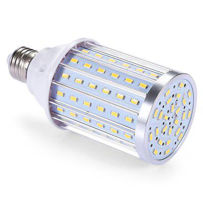 E27 360 Degree 108 LEDs Corn BulbCorn Bulbs<br>E27 360 Degree 108 LEDs Corn Bulb<br><br>Available Light Color: Warm White<br>CCT/Wavelength: 3500K<br>Emitter Types: SMD 5730<br>Features: Long Life Expectancy<br>Function: Commercial Lighting, Home Lighting<br>Holder: E27<br>Luminous Flux: 1080Lm<br>Output Power: 25W<br>Package Contents: 1 x E27 108 LEDs Corn Bulb<br>Package size (L x W x H): 6.50 x 6.50 x 15.00 cm / 2.56 x 2.56 x 5.91 inches<br>Package weight: 0.2000 kg<br>Product weight: 0.1540 kg<br>Sheathing Material: Aluminum, PC<br>Total Emitters: 108<br>Type: Corn Bulbs<br>Voltage (V): AC85-265