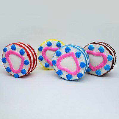 Round Sandwich Cream Cake PU Foam Squishy ToySquishy toys<br>Round Sandwich Cream Cake PU Foam Squishy Toy<br><br>Color: Blue<br>Materials: PU<br>Package Content: 1 x Squishy Toy<br>Package Dimension: 14.00 x 14.00 x 7.00 cm / 5.51 x 5.51 x 2.76 inches<br>Package Weights: 105g<br>Pattern Type: Cake<br>Product Dimension: 12.50 x 12.50 x 5.00 cm / 4.92 x 4.92 x 1.97 inches<br>Product Weights: 79g<br>Products Type: Squishy Toy<br>Use: Home Decoration, Art &amp; Collectible