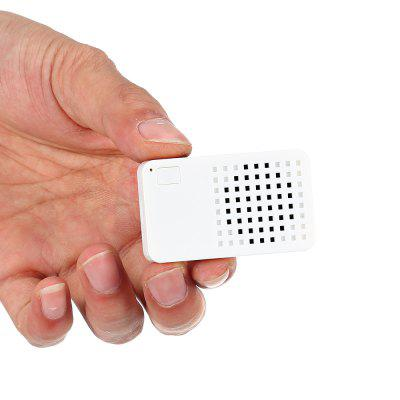 EC101 Mini Outdoor Portable Wireless Bluetooth V4.1 SpeakerSpeakers<br>EC101 Mini Outdoor Portable Wireless Bluetooth V4.1 Speaker<br><br>Audio Source: Bluetooth Enabled Devices<br>Battery Capacity: 140mAh<br>Bluetooth Version: Bluetooth 4.1<br>Charging Time: 1 hour<br>Compatible with: Tablet PC, PSP, PC, MP5, MP4, iPhone, iPod, Laptop, Mobile phone, MP3<br>Connection: Wireless<br>Design: Classical<br>Interface: Micro USB<br>Lasting Time: 24 hours<br>Model: EC101<br>Package Contents: 1 x EC101 Mini Bluetooth V4.1 Speaker, 1 x USB Cable, 1 x Portable Rope, 1 x English Manual<br>Package size (L x W x H): 8.00 x 6.00 x 2.10 cm / 3.15 x 2.36 x 0.83 inches<br>Package weight: 0.0410 kg<br>Power Output: 1W<br>Product size (L x W x H): 5.40 x 3.20 x 1.10 cm / 2.13 x 1.26 x 0.43 inches<br>Product weight: 0.0200 kg<br>Supports: Bluetooth, Hands-free Calls<br>Working Time: 2 hours