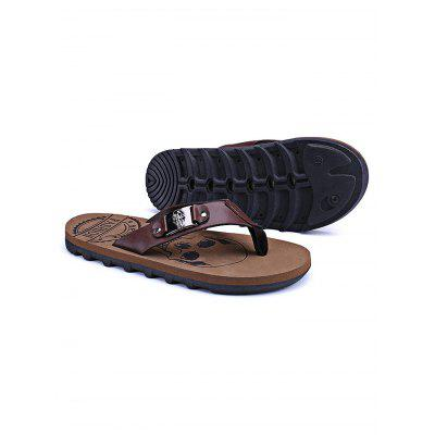 Summer Beach Skidproof Men Casual Flip Flops SlippersMens Slippers<br>Summer Beach Skidproof Men Casual Flip Flops Slippers<br><br>Contents: 1 x Pair of Slippers<br>Materials: PU, PVC<br>Occasion: Casual<br>Package Size ( L x W x H ): 31.00 x 18.50 x 11.00 cm / 12.2 x 7.28 x 4.33 inches<br>Package Weights: 0.440kg<br>Seasons: Autumn,Spring,Summer<br>Style: Leisure, Comfortable<br>Type: Slippers