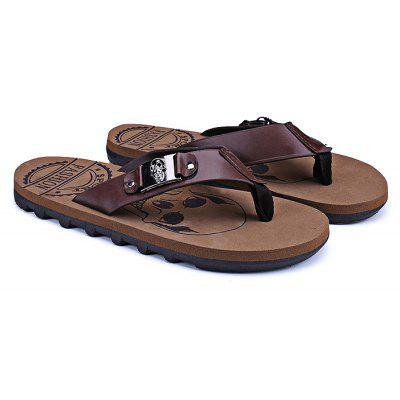 Summer Beach Skidproof Men Casual Flip Flops Slippers