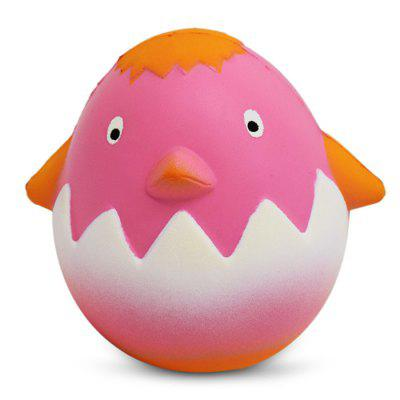 Cartoon Cracked Egg Chick PU Foam Squishy Toy