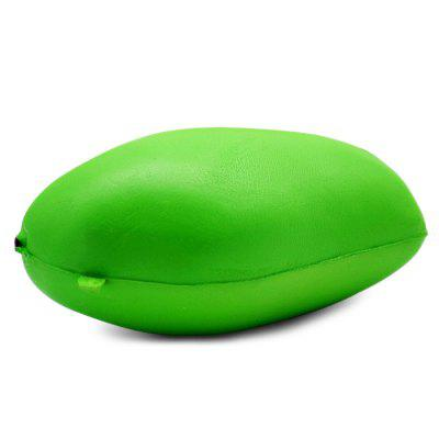 Realistic Mango Ultra Soft PU Foam Squishy ToySquishy toys<br>Realistic Mango Ultra Soft PU Foam Squishy Toy<br><br>Color: Green<br>Materials: PU<br>Package Content: 1 x Squishy Toy<br>Package Dimension: 8.00 x 8.00 x 14.00 cm / 3.15 x 3.15 x 5.51 inches<br>Package Weights: 70g<br>Pattern Type: Fruit<br>Product Dimension: 6.50 x 6.00 x 12.00 cm / 2.56 x 2.36 x 4.72 inches<br>Product Weights: 42g<br>Products Type: Squishy Toy<br>Use: Art &amp; Collectible